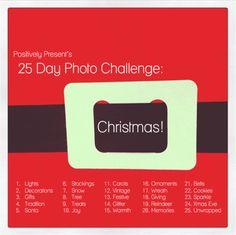 Christmas Photo Challenge.  This sounds fun!