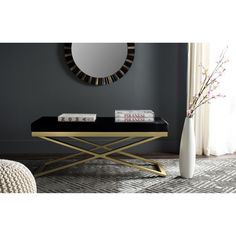 Safavieh Acra / Gold Bench
