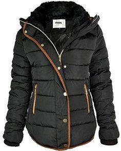 e9dded34e25c Beautiful Prime Ladies Puffer Jacket Quilted Padded Warm Thick Womens  Jacket Coat Pr-01 online