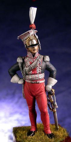 Poniatowski, comandante dei lancieri polacchi della guardia imperiale francese