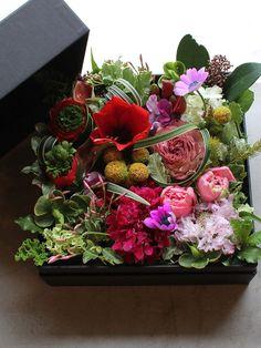 Box Flower Arrangement   K's flower novo