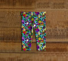 Rainbow Peace Baby Leggings - Available Here: http://artofwhere.com/shop/product/73041