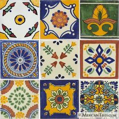 decorative tiles | Mexican Tile - Decorative Talavera Mexican Tile