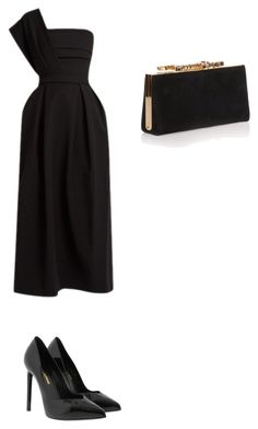 """""""Untitled #2073"""" by ioan-jeni on Polyvore featuring Preen, Yves Saint Laurent, Jimmy Choo, men's fashion and menswear"""