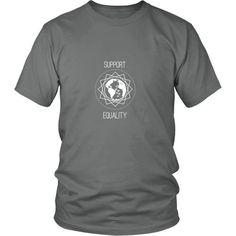 Support Equality Tee (White)