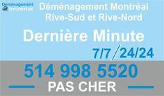 Demenagement Derviere Minute http://www.demenagement-montreal.ca/