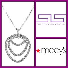 SIS by Simone I. Smith at Macy's on Pinterest