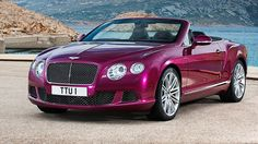 luxury convertible cars | Bentley Continental GT Speed Convertible offers 325 km/h of topless ...