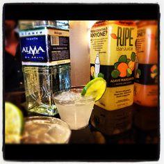 Ripe Almarita-  Alma de Agave tequila (Blanco)  Organic Ripe Bar Juice in Agave Margarita flavor