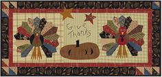 """Jan Patek Quilts: Two """"New"""" Classics - Well Three - but Zoie might not want to be called a classic yet :) Thanksgiving Table Runner, Table Runner And Placemats, Table Runner Pattern, Quilted Table Runners, Cute Quilts, Mini Quilts, Dresden Plate Quilts, Halloween Quilts, Fall Quilts"""