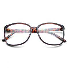 b33ae09fffe Large Oversized Wayfarer Glasses Clear Lens Thin Frame Nerd Glasses  Sunglasses 2017