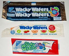 My favorite candy of all time. Discontinued when Nestle bought the Willie Wonka Candy Co.