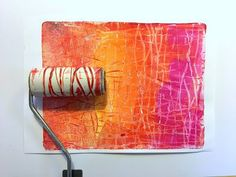 Printing with Gelli Arts®: Create Repeat Patterns and Textures with Gelli Arts® Gel Printing Plates Gelli Plate Printing, Stamp Printing, Screen Printing, Stencil Painting, Fabric Painting, Gelli Arts, Plate Art, Painted Paper, Art Plastique