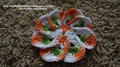 Flor em Crochê EURO FLOR