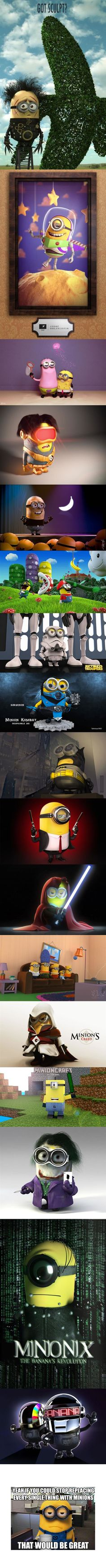 Despicable Me - Minions Everywhere