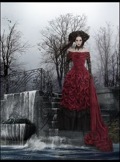 Top Gothic Fashion Tips To Keep You In Style. As trends change, and you age, be willing to alter your style so that you can always look your best. Consistently using good gothic fashion sense can help Steampunk Mode, Gothic Steampunk, Victorian Gothic, Gothic Art, Victorian Bride, Gothic Horror, Dark Gothic, Dark Beauty, Gothic Beauty