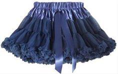 Kinder Petticoat blauw