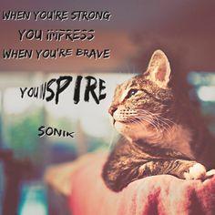 #impress or #inspire ?
