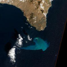 El volcán de El Hierro, foto del año de la Nasa