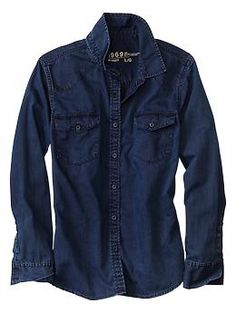 denim/chambray shirts are great nice casual options for women and men at castings!