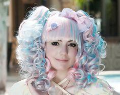 Lolita Kawaii Ribbon Handmade Hair Candy as by HypnoticSweetTreats,