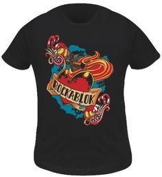 T-Shirt Kidz Fille ROCKABLOK - Heart