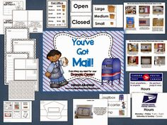http://www.teacherspayteachers.com/Product/Post-Office-Dramatic-Play-Center-1113392