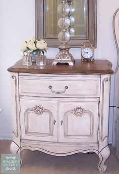 French Provencal Side Table