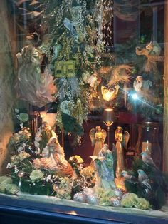 Our shopping window christmas decoration