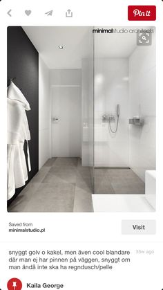 If you have a small bathroom in your home, don't be confuse to change to make it look larger. Not only small bathroom, but also the largest bathrooms have their problems and design flaws. Bathroom Toilets, Laundry In Bathroom, Bathroom Renos, White Bathroom, Bathroom Interior, Modern Bathroom, Small Bathroom, Bathroom Ideas, Interior Livingroom