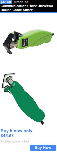 Tools Crimpers and Strippers: Greenlee Communications 1822 Universal Round Cable Slitter, 0.18 - 1-Inch New BUY IT NOW ONLY: $45.58