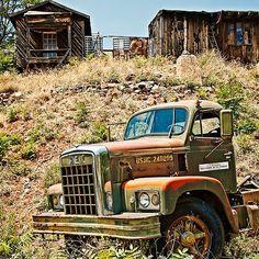 REX Takes a Rest - photograph by Lee Craig  via @leeseesart #trucks #RusticDecor #DecoratingIdeas