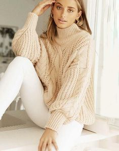 Jumpers For Women, Sweaters For Women, Turtleneck Outfit, Winter Sweaters, Batwing Sleeve, Jumpsuits For Women, Knitwear, 50 Style, Turtle Neck