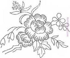 Image result for riscos para bordar flores