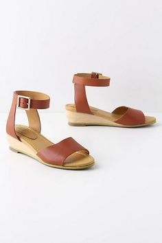 Classic sandal with 2 in wedge. See by Chloe, sold at Anthropologie $315