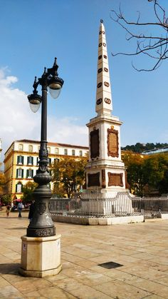 Monumento a Torrijos is a 19th-century in the centre of the Plaza de la Merced, Málaga.   Spanish architect Rafael Mitjana designed the monument in honour of General José María Torrijos and 48 of his companions who were shot to death on order of Ferdinand VII . The base of the monument houses the remains of the men.