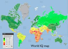 World IQ Map