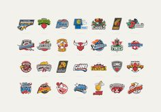 Here is the full set of logos we created as a tribute mash up of the NBA teams with the cartoons we love from 80's and 90's, when we were childs. We are happy to finally present to you the complete project of 28 logos.Photo: Hide StudioSpain, April-May…