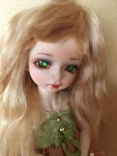 Fuzzi Flower Doll Eyes, Pretty Eyes, Blythe Dolls, Doll Clothes, Fairy, Mirror, Disney Princess, Flowers, Baby Doll Clothes