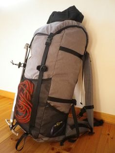 MYOG: Sac Alpin, Rando à skis ou raquettes (UL) KSA-48