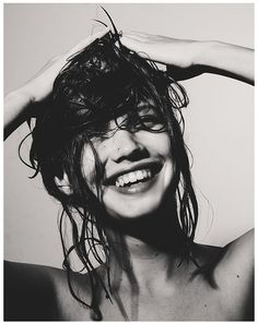 Shower smile