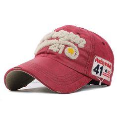 2554e8b6598 Baseball Cap Men Women Cotton Fitted Hats For Men 5 Panels Adjustable dad  hat Ca