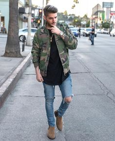 "3,450 mentions J'aime, 150 commentaires - Danielo Costa (@danielo_costa) sur Instagram : ""ROCKING CAMO bomber & t-shirt by @killionest check it out on www.killionest.com 