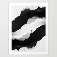 White Isolation Art Print by Stoian Hitrov - Sto  - $18.00