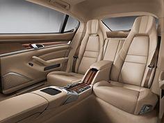 Porsche Panamera Rear Seat