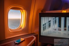 Room with a view - Check more at https://www.miles-around.de/trip-reports/business-class/american-airlines-business-class-nach-london-heathrow/,  #AmericanAirlines #Boeing777-300ER #BusinessClass #GinTonic #WLAN