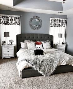 The Armoire is the part of bedroom furniture sets that can include a great deal . The Armoire is the part of bedroom furniture sets that can include a great deal of style to a space Bedroom Furniture Sets, Home Decor Bedroom, Bedroom Curtains, Black Furniture, Bedroom Inspo, Furniture Stores, Furniture Websites, Furniture Dolly, Furniture Online