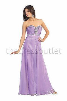 Strapless Sweetheart Rouching Rhinestones Waist Sheer Overlay Prom Bridesmaids | eBay