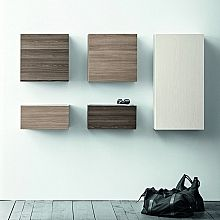 Contemporary Italian hallway furniture set Square