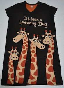 Giraffe Night Shirt